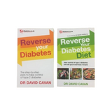 Reverse Your Type 2 Diabetes & Reverse Your Type 2 Diabetes Diet by Dr David Cavan Book Bundle