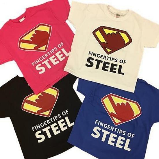 Fingertips of Steel Tee (Girls)