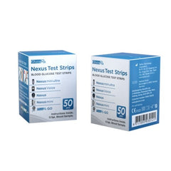 GlucoRx Nexus Test Strips (50)