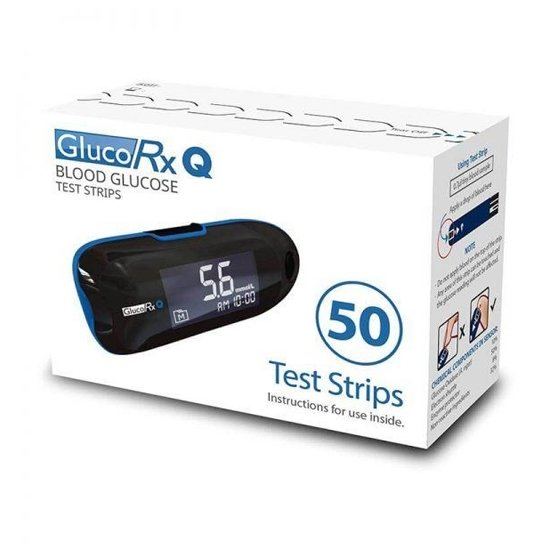 GlucoRx Q Test Strips