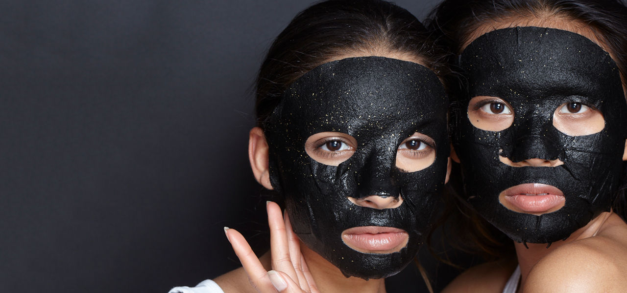 24K Gold Charcoal Sheet Mask
