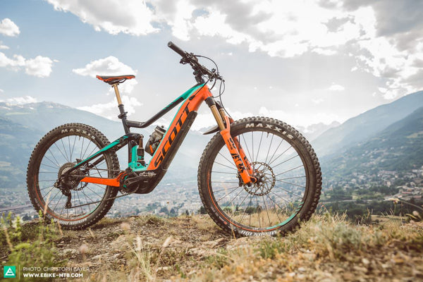 FIRST RIDE REVIEW: SCOTT E-GENIUS 2018, by Christoph Bayer, eMTB Magazine