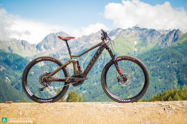 SCOTT STRIKE eRIDE – a comfortable bike for your touring days!