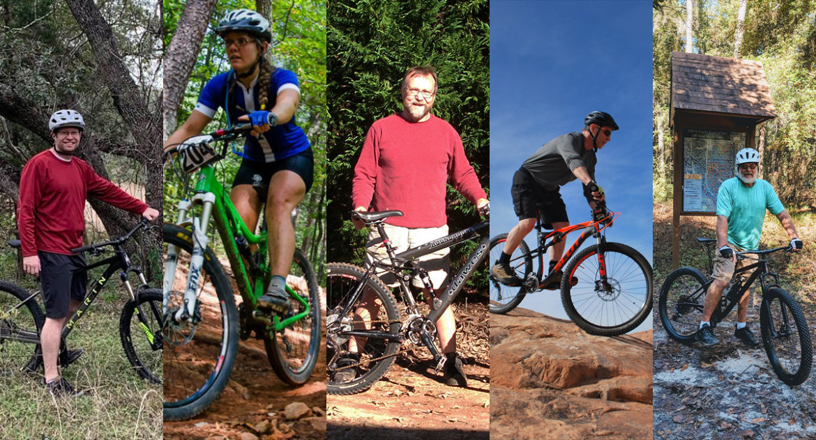How Five Riders Lost Weight Through Mountain Biking - Singletracks