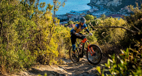 E-EWS — An electric Enduro World Series Test run of the Finale Ligure stage