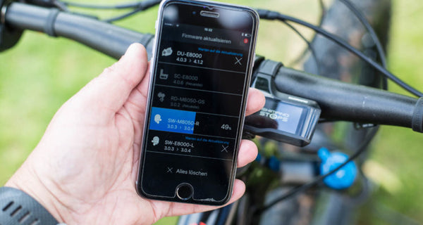 How-To & Test: Shimano Steps E8000 Firmware Update 4.1 - by MTB News