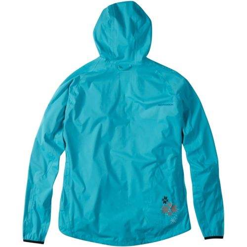 SALE - Madison Flo women's softshell jacket, aqua blue