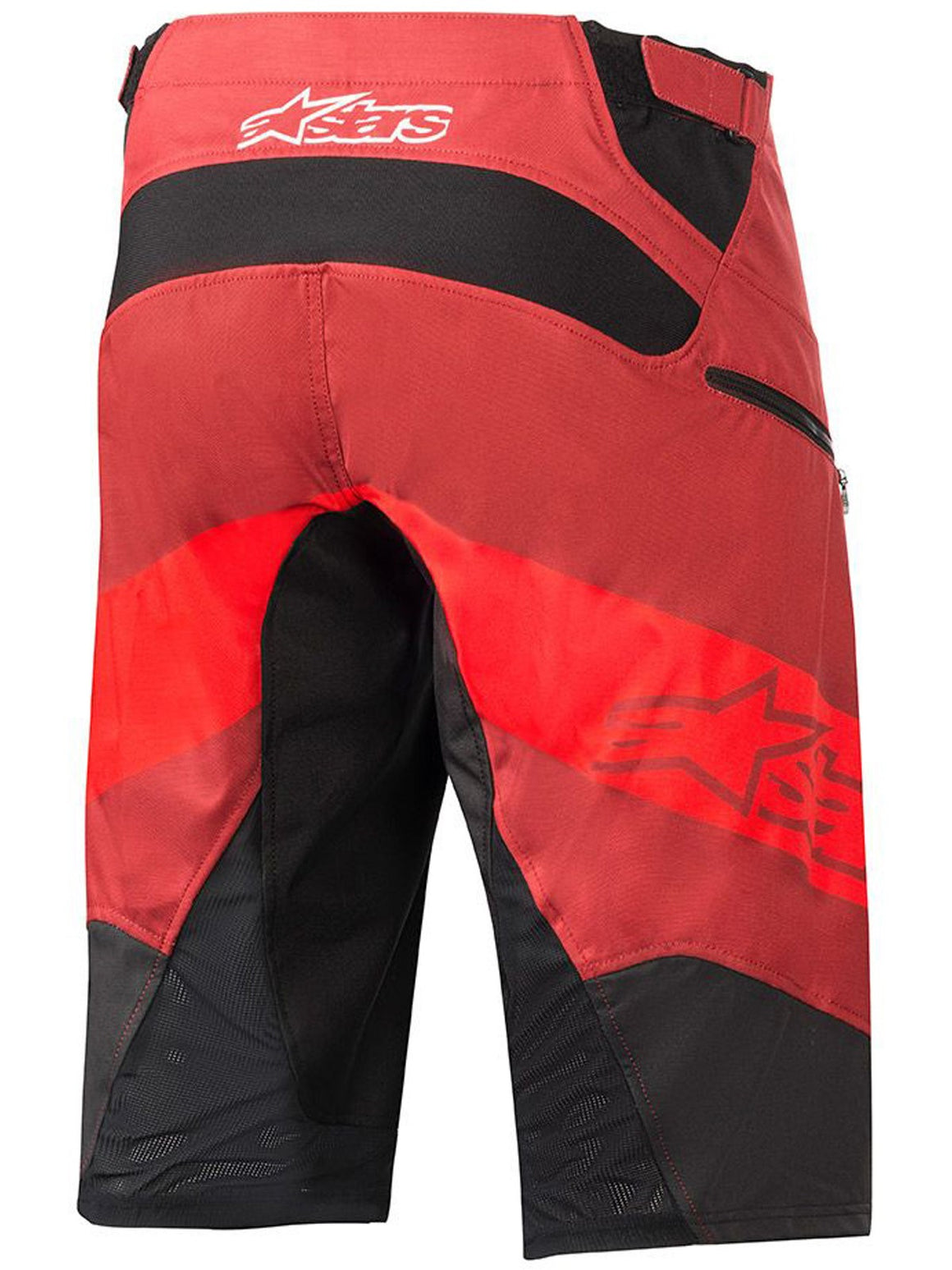 Alpinestars Racer Shorts, Mens - bright red/burgundy