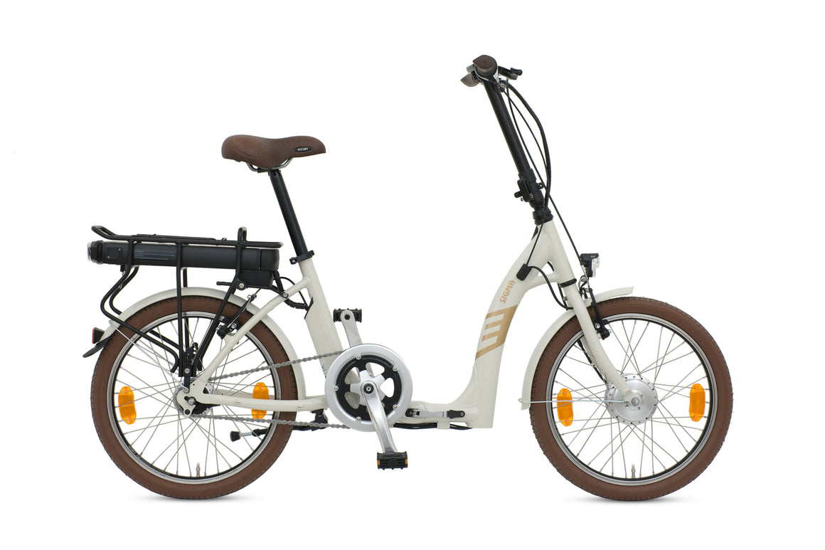 Batribike SIGMA – White Shadow