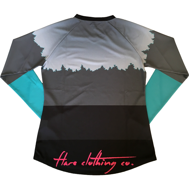 Flare Women's Roost Downhill Jersey Grey