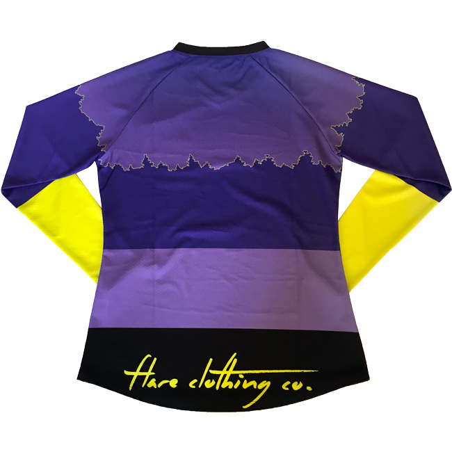Flare Roost Downhill Jersey Purple