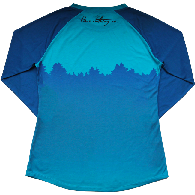 Flare Women's Enduro Jersey Teal