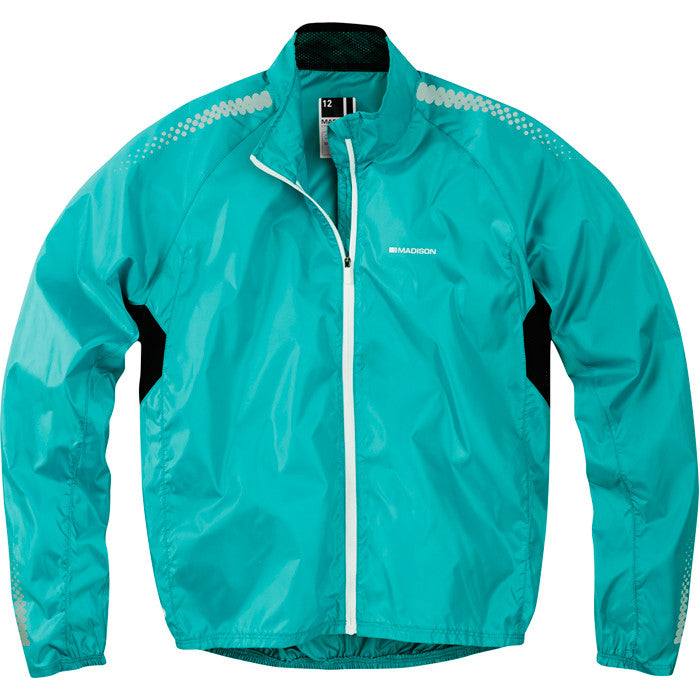 Madison Pac-it Women's Showerproof Jacket in Blue