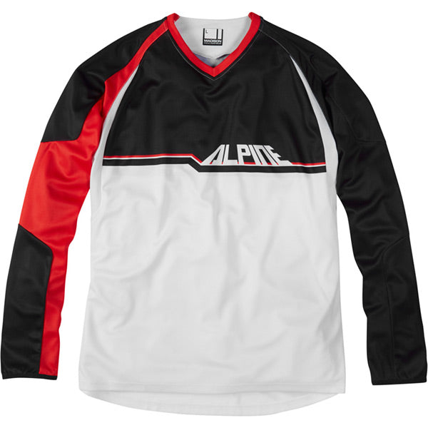 Alpine, Saracen Factory Race Team, Men's Long Sleeve MTB Jersey