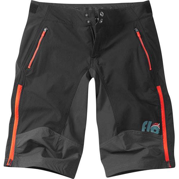 Madison Flo Women's DWR Trail Shorts, Black / Chilli