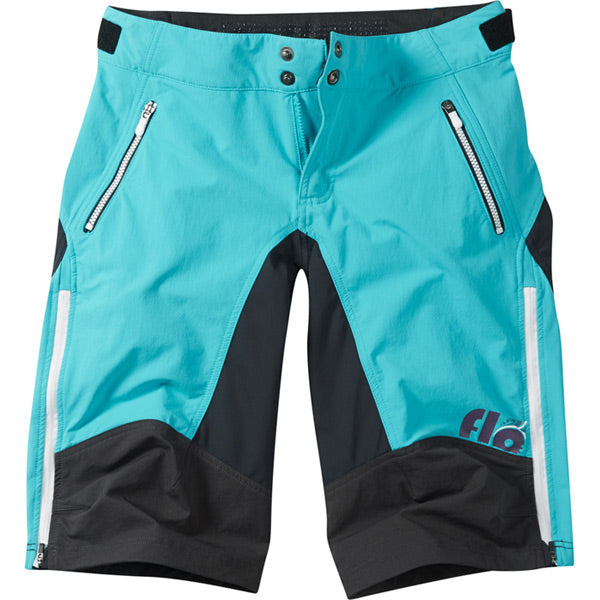 Madison Flo Women's DWR Trail Shorts, Aqua Blue