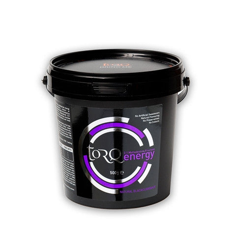 Torq Natural Energy Drink 500g Tub in Various Flavours