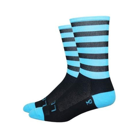 Sak07 Aireator Carolina Black/Blue Socks