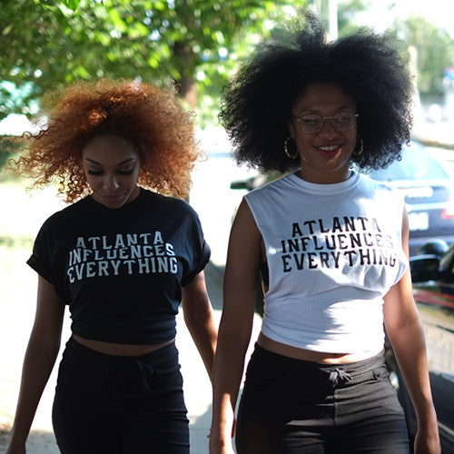 "Bem Joiner says ""Atlanta Influences Everything"" Tee (Black/White)"