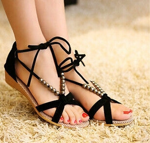 Women Sandals Low Heel Wedges - Fantastic Fashion