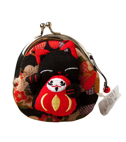 1 pc Japanese style,Lucky cat coin purse,coin bags,Zero Wallet,Japanese kimono fabric coin bag 8 styles monederos - Fantastic Fashion