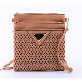 2017 Women Messenger Bag Hollow Out bolsa feminina bolso mujer Leather Shoulder Bag Small Crossbody Bags for Women Bucket Bags - Fantastic Fashion