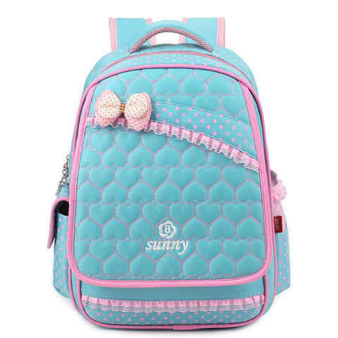 1 pc School Bag Nylon Children School Backpack Princess Kindergarten Girl Backpack