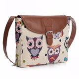 Xiniu Women Owl Printed Satchel Shoulder Bag 4 color Crossbody Bag female bags portefeuille femme #GHYW - Fantastic Fashion
