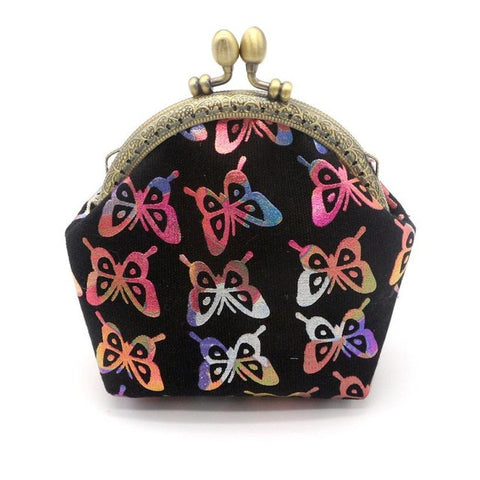 2017 Women Wallets Lady Vintage Butterfly Small Wallet Hasp Purse Clutch Bag carteras mujer #XTJ - Fantastic Fashion