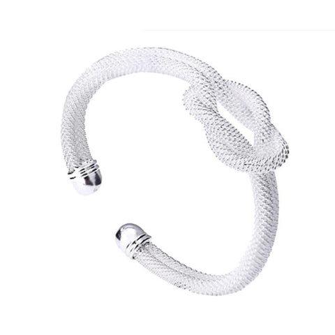 1 PC Women Bracelets Jewelry Knote Bangle Gift
