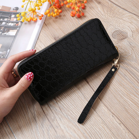 Fashion Women Stone Road Wallet Coin Bag Purse Phone Bag - Fantastic Fashion