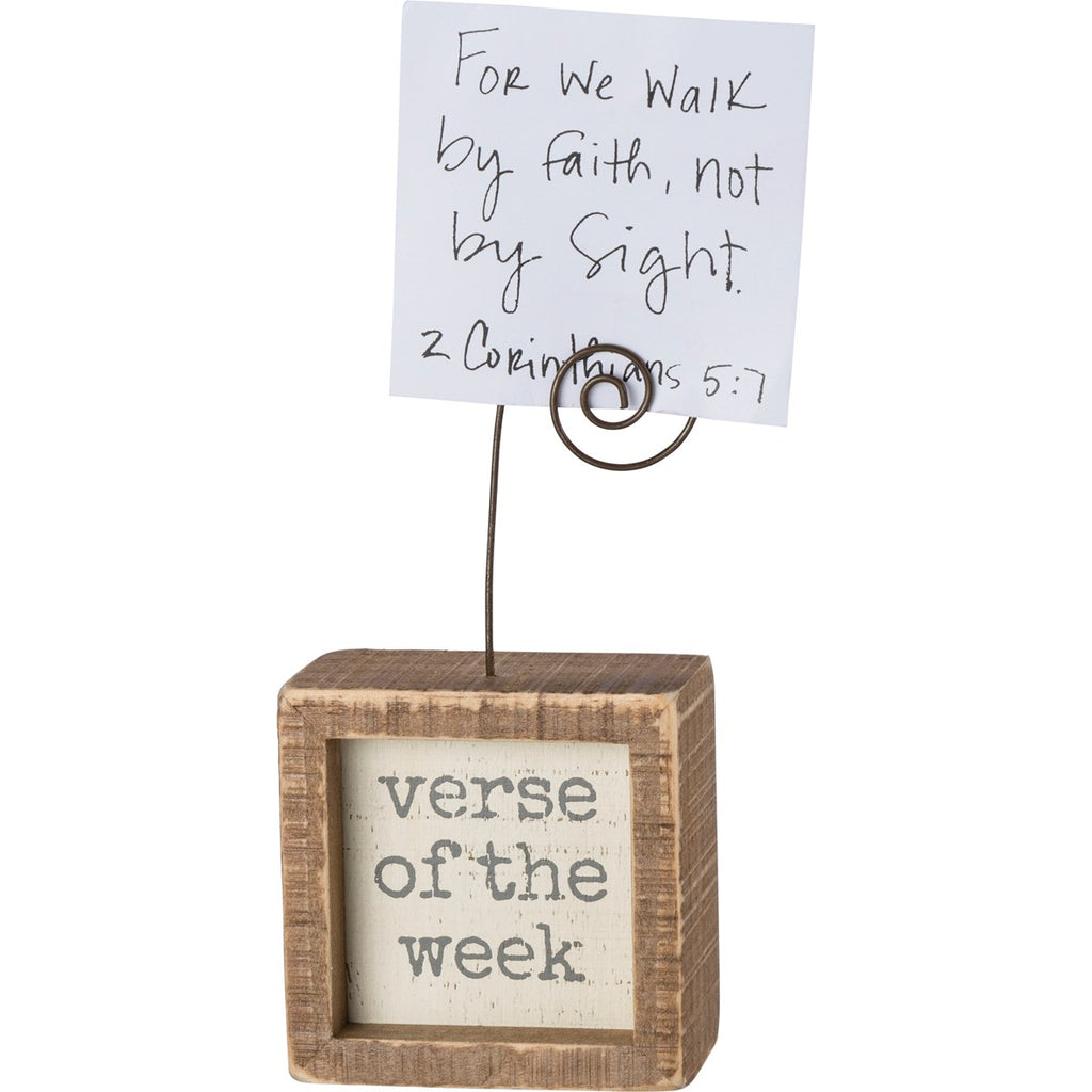 Verse of the Week Photo Block