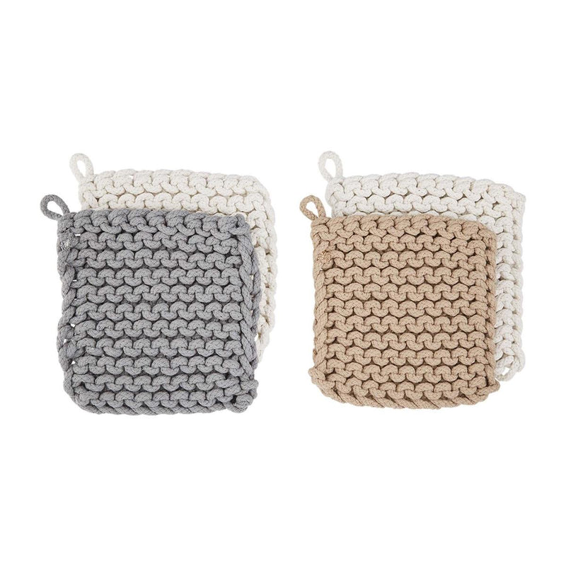 Crocheted Pot Holder Set