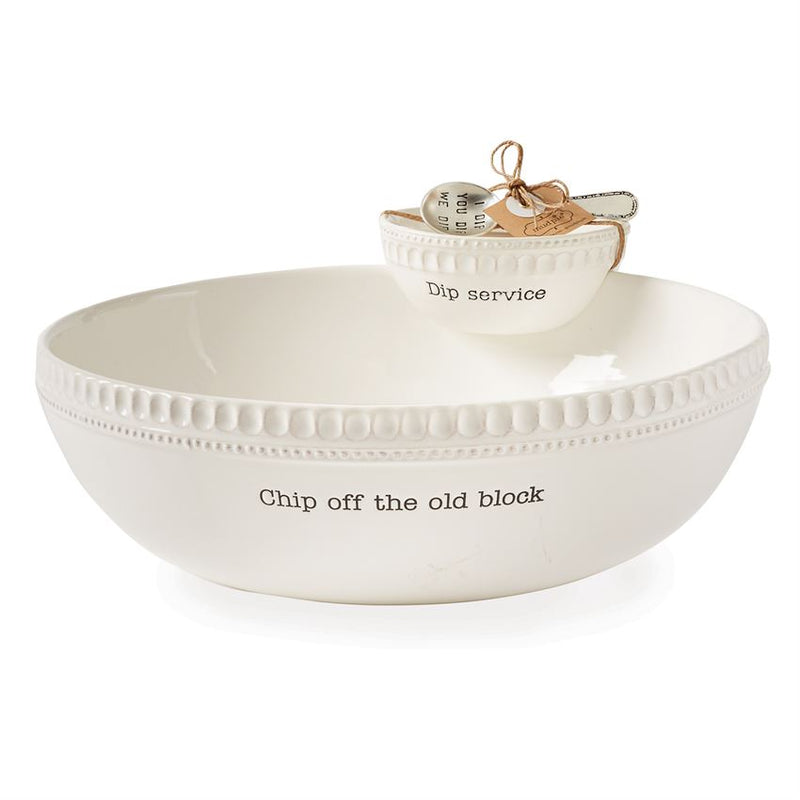 Stacked Chip & Dip Set