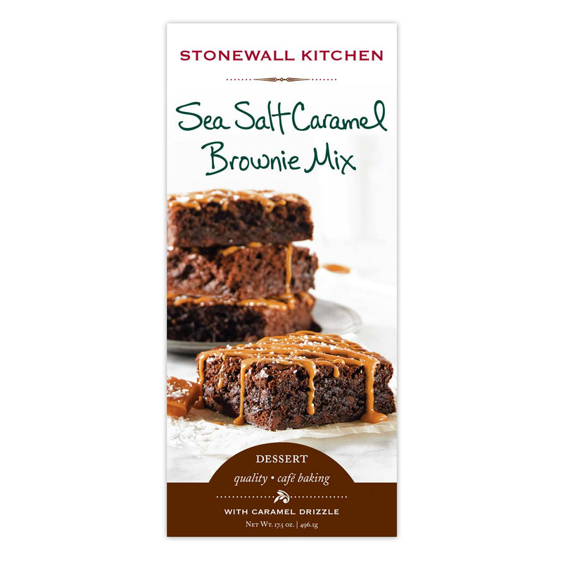 Sea Salt Caramel Brownie Mix