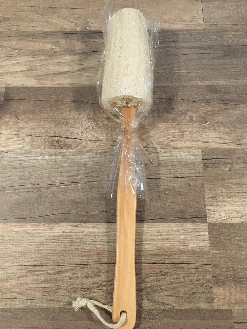 Loofah Brush on Handle