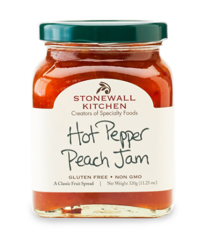 Hot Pepper Peach Jam