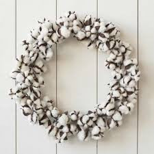 "26"" Cotton Wreath"