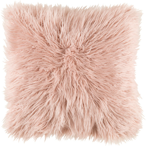 Kharaa Fur Pillow Pink