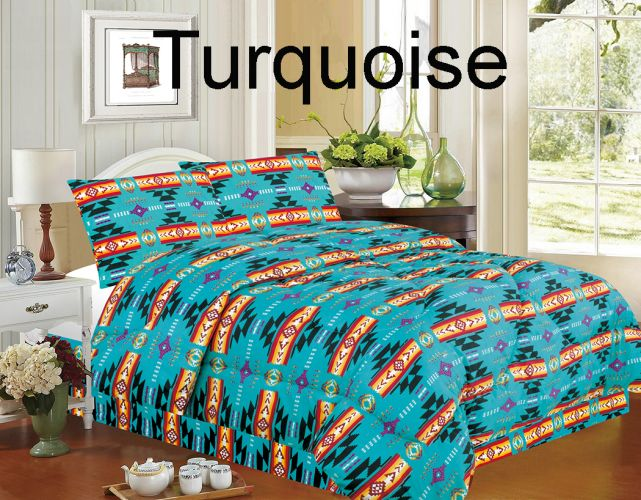 KING Southwestern Design Bed Set