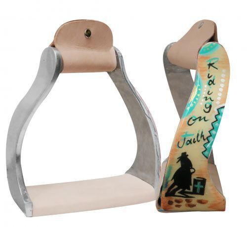 Riding on Faith Stirrups