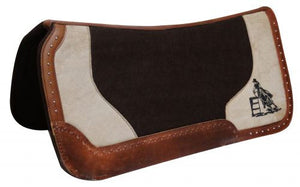 Black Felt Barrel Racer Pad