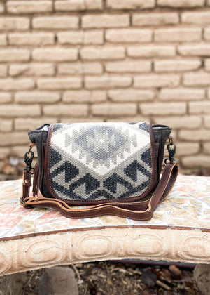 Brown Boho Crossbody