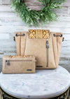 Concealed Carry Trinity Ranch Tan Aztec Handbag & Wallet