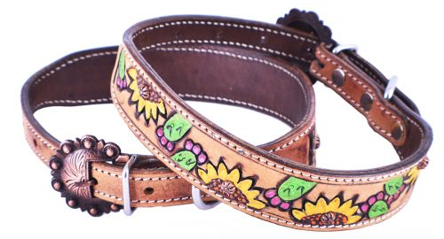 Sunflower & Cactus Dog Collar