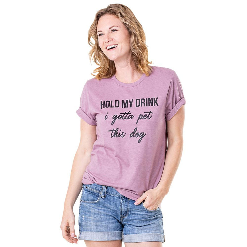 Hold My Drink Graphic Tee (3 Colors)