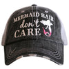 Mermaid Hair Don't Care Trucker Cap (4 colors)