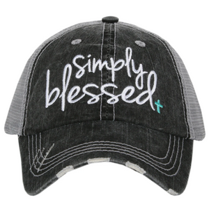 Simply Blessed Trucker Cap (2 colors)