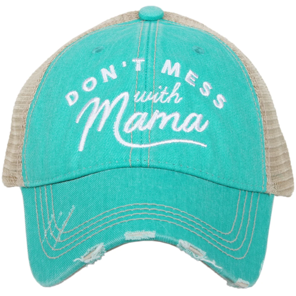 Don't Mess With Mama Trucker Cap (4 colors)