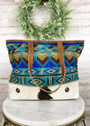 Multi Colored Aztec Patterned Handbag